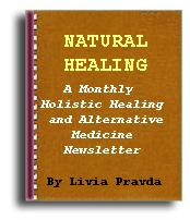 Natural health and healing newsletter